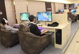广州爱克斯大型高端网咖